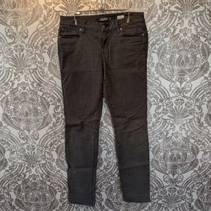 Level 99 charcoal Lily skinny straight jeans